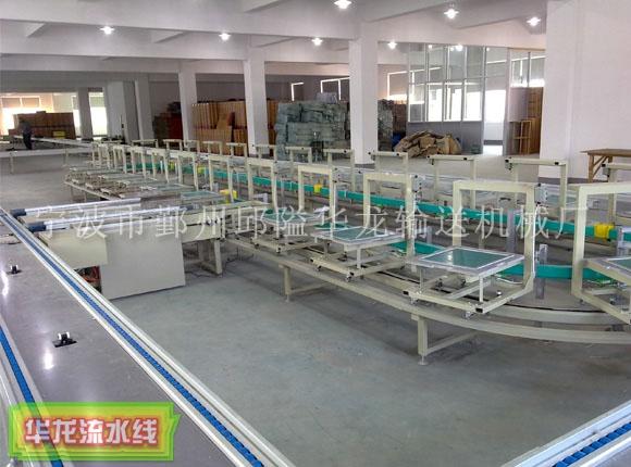 杭州环形小车流水线